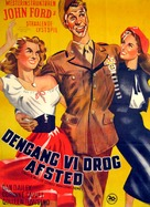 When Willie Comes Marching Home - Danish Movie Poster (xs thumbnail)