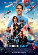 Free Guy - Egyptian Movie Poster (xs thumbnail)
