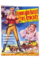 Woman They Almost Lynched - Belgian Movie Poster (xs thumbnail)