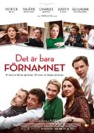 Le prénom - Swedish Movie Poster (xs thumbnail)