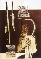 L'orribile segreto del Dr. Hichcock - Italian Movie Poster (xs thumbnail)