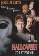 Halloween H20: 20 Years Later - Polish Movie Cover (xs thumbnail)