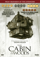 The Cabin in the Woods - Swedish DVD movie cover (xs thumbnail)