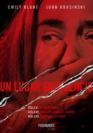A Quiet Place - Colombian Movie Poster (xs thumbnail)