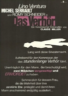 Garde à vue - German Movie Poster (xs thumbnail)