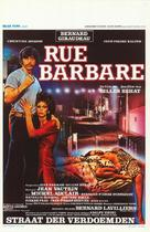 Rue barbare - Belgian Movie Poster (xs thumbnail)
