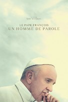 Pope Francis: A Man of His Word - French Movie Cover (xs thumbnail)