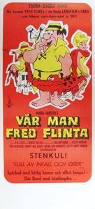 The Man Called Flintstone - Swedish Movie Poster (xs thumbnail)