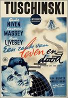 A Matter of Life and Death - Dutch Movie Poster (xs thumbnail)