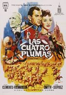 The Four Feathers - Spanish Movie Poster (xs thumbnail)