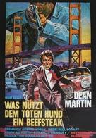 Mr. Ricco - German Movie Poster (xs thumbnail)