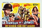 At War with the Army - Belgian Movie Poster (xs thumbnail)