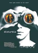 Disturbia - Danish Movie Poster (xs thumbnail)
