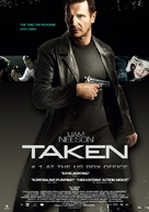 Taken - Swedish Movie Poster (xs thumbnail)