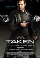 Taken - Swedish Movie Poster (xs thumbnail)