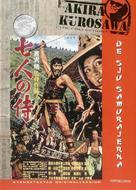 Shichinin no samurai - Swedish Movie Cover (xs thumbnail)