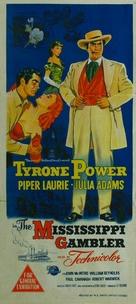The Mississippi Gambler - Australian Movie Poster (xs thumbnail)