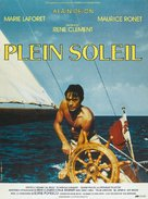 Plein soleil - French Movie Poster (xs thumbnail)