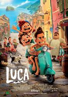 Luca - Spanish Movie Poster (xs thumbnail)