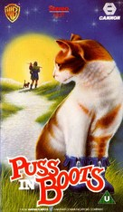 Puss in Boots - British VHS cover (xs thumbnail)