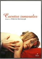 Contes immoraux - Spanish DVD cover (xs thumbnail)