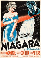 Niagara - Danish Movie Poster (xs thumbnail)