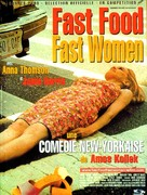 Fast Food Fast Women - French Movie Poster (xs thumbnail)