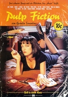 Pulp Fiction - German Movie Poster (xs thumbnail)