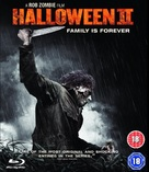Halloween II - British Blu-Ray movie cover (xs thumbnail)