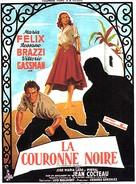 La corona negra - French Movie Poster (xs thumbnail)