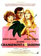 A Change of Seasons - French Movie Poster (xs thumbnail)