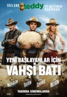 A Million Ways to Die in the West - Turkish Movie Poster (xs thumbnail)