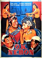O.K. Nerone - French Movie Poster (xs thumbnail)