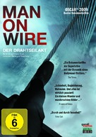 Man on Wire - German DVD cover (xs thumbnail)