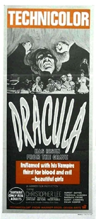 Dracula Has Risen from the Grave - Australian Movie Poster (xs thumbnail)