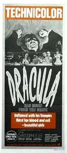 Dracula Has Risen from the Grave - Australian Movie Poster (xs thumbnail)