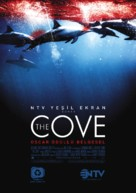 The Cove - Turkish Movie Poster (xs thumbnail)