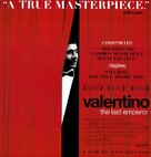 Valentino: The Last Emperor - Movie Poster (xs thumbnail)