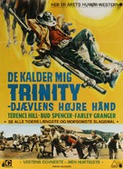Lo chiamavano Trinità - Danish Movie Poster (xs thumbnail)