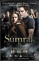 Twilight - Slovak Movie Poster (xs thumbnail)