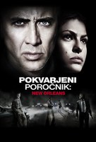 The Bad Lieutenant: Port of Call - New Orleans - Slovenian Movie Poster (xs thumbnail)