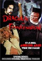 Dracula Vs. Frankenstein - DVD movie cover (xs thumbnail)
