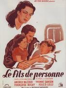 I figli di nessuno - French Movie Poster (xs thumbnail)