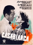 Casablanca - Finnish Movie Poster (xs thumbnail)