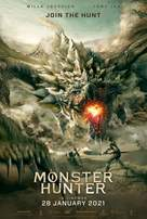Monster Hunter - Malaysian Movie Poster (xs thumbnail)