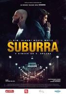 Suburra - Czech Movie Poster (xs thumbnail)