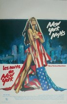 New York Nights - Belgian Movie Poster (xs thumbnail)