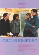 Les gens qui s'aiment - Spanish Movie Poster (xs thumbnail)