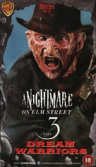 A Nightmare On Elm Street 3: Dream Warriors - British Movie Cover (xs thumbnail)