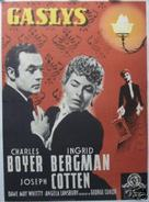 Gaslight - Danish Movie Poster (xs thumbnail)
